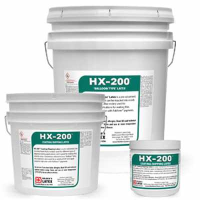 Mask making látex